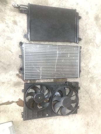 перки и радиатор Seat Altea