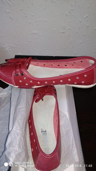 Дамски обувки от естествена кожа!