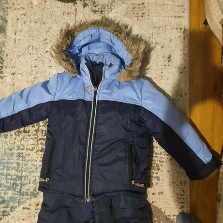 Продам комбинезон с курткой, детский. Теплый на зиму