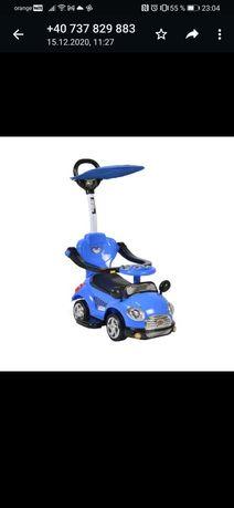 Masinuta copii si bebe Jolly Kids™ Sport Car, cu melodii, maner de imp