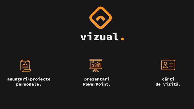 Design prezentări power point /bannere /cărți vizită