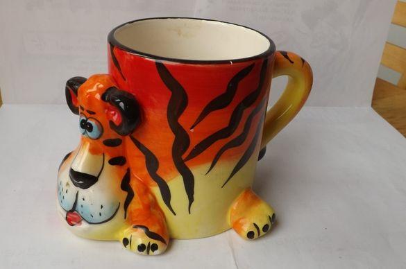 Забавна чаша тигър