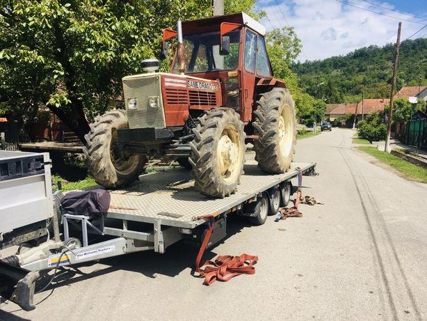 Transport tractoare, tractari auto, utilaje agricole, autoutilitare