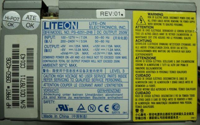 Sursa PC LiteOn 250W Testata