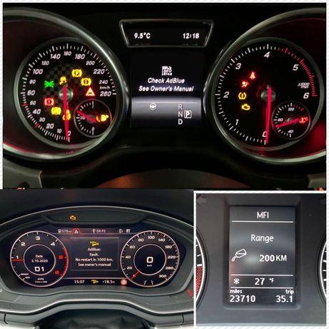 Remediere AdBlue pentru ORICE marcă auto (inclusiv auto off road)