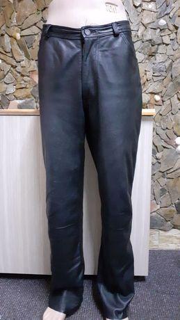Pantaloni piele moto/chopper /strada  Autentic mar 52