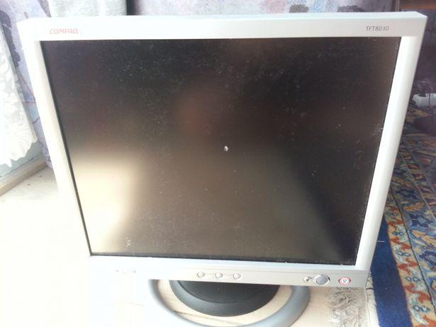 Monitor Compaq double input