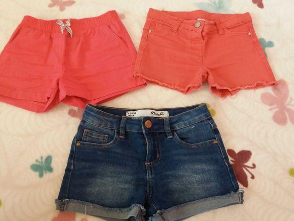 Къси панталонки за момиченца