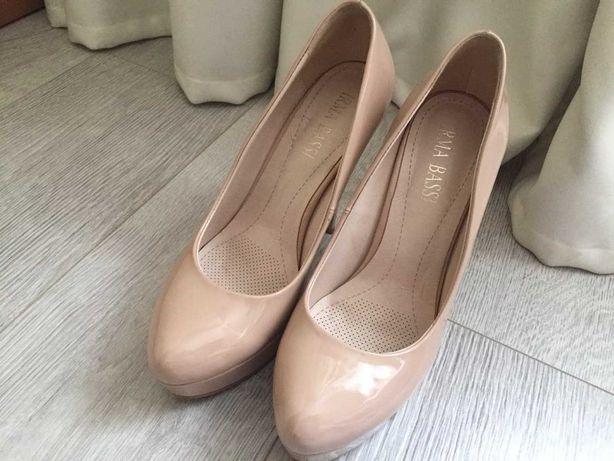 Турецкие туфли с каблуком