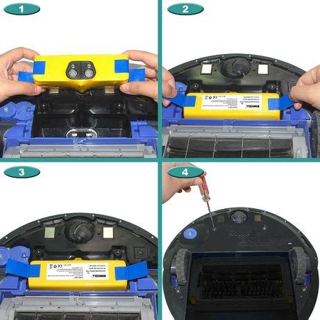 Батерия за iRobot Roomba,Scooba, + подарък странична четка + ГАРАНЦИЯ