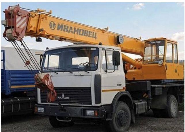 Услуги автокрана 16 тонн, 18 метров