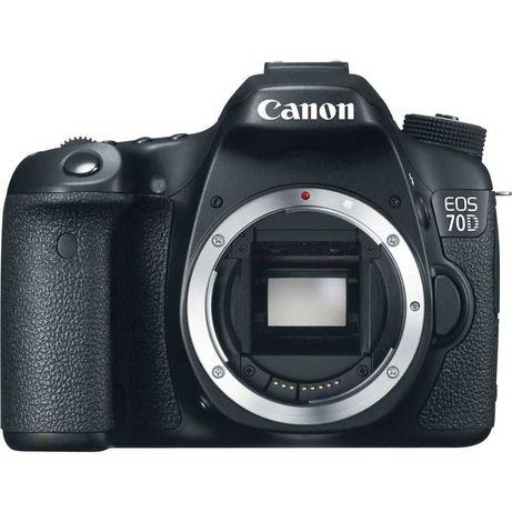 Aparat foto DSLR Canon EOS 70D, 20.2MP