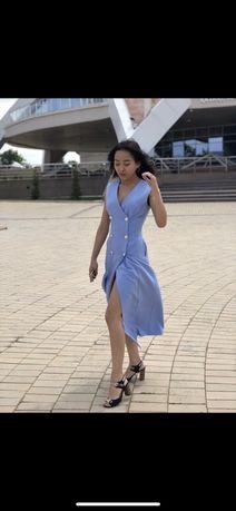 Стильное платье-жилет. Нур-Султан