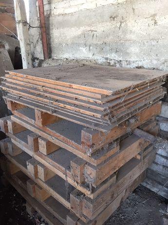 Дървен материал, дървена плоскост, дървени колове