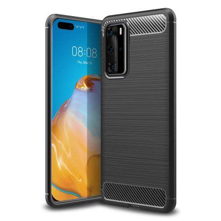 Калъф / кейс / гръб Carbon за Huawei P40 / Lite / Lite E / Pro