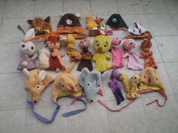 Кукли и шапки за куклен театър