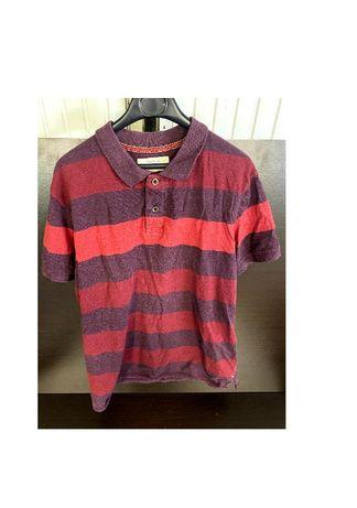 TIMEOUT тениска/фланелка с яка размер ХЛ regular fit