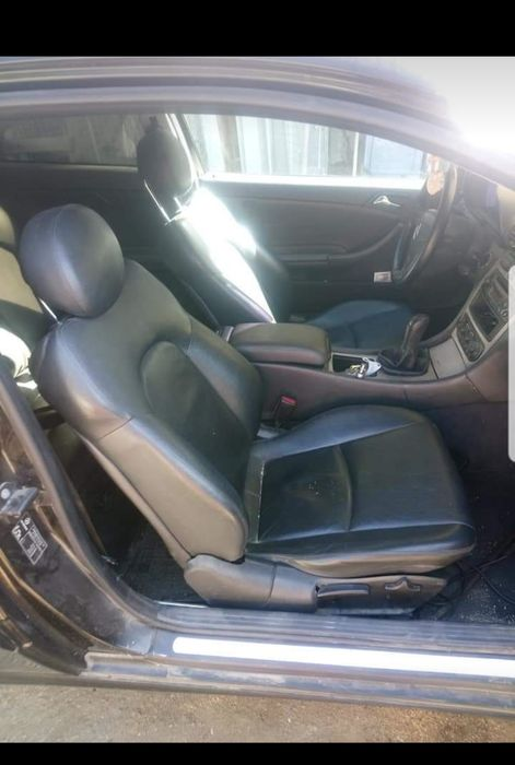 Interior piele mercedes c class w203 coupe impecabil Oltenita - imagine 1