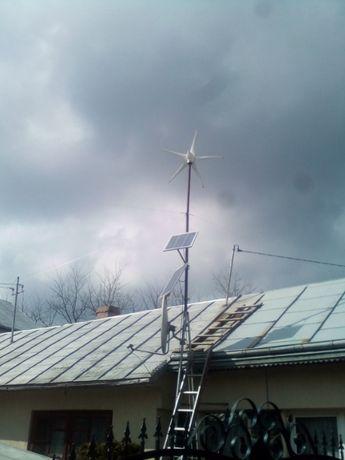 eoliana, panouri fotovoltaice
