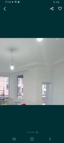 Покраска стен и потолков левкас обои. Есть краскораспылитель WAGNER