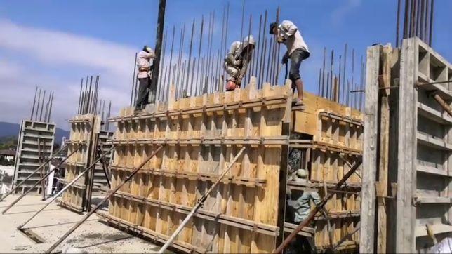 Строим котедж бетон заливка фундамент монолит разработка котлованов