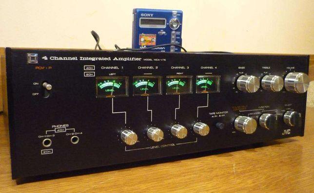 Amplificator vintage JVC MCA-V7E - 4 Channel Amplifier Quadrophonic