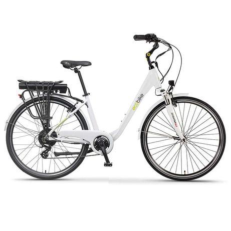 Градски електрически велосипед EcoBike Traffic PRO 350 | бял