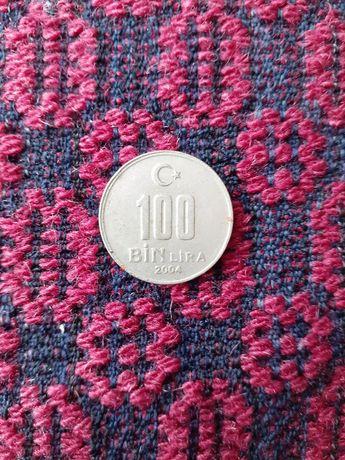 Турска монета от 100 лири