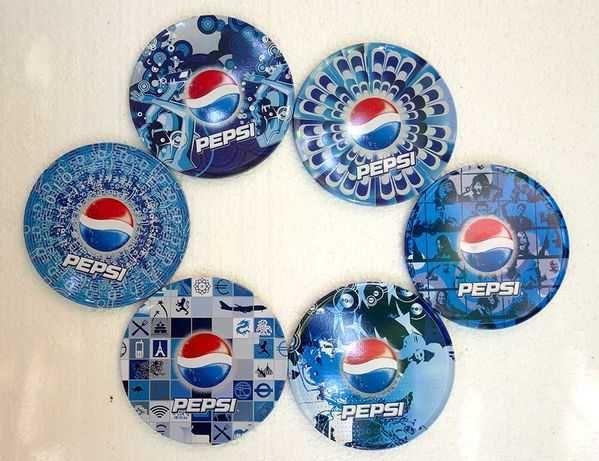 "Suport pentru pahare rotunde ,,Pepsi"""