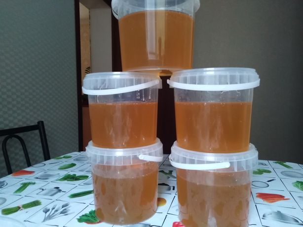 Натуральный жантаковый мёд