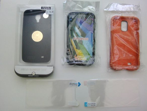 Висококачествени силиконови кейсове/калъфи/ и протектори за Samsung s4