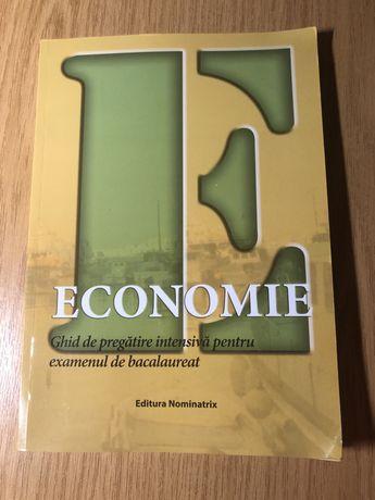 Economie - ghid de pregătire intensivă pentru examenul de Bacalaureat