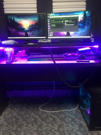 PC Gaming i7 8700k Asus Rog Strix 1080 Ti 32Gb 3000hz SSD Wi fi