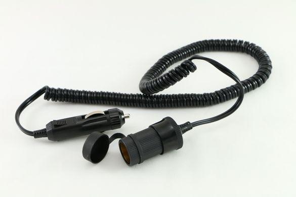 Авто спирален кабел до 10 А, 12 V /24 V, 3м, нов, немски, от Германия