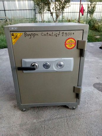 Сейф огнестойки Topaz BSK-670
