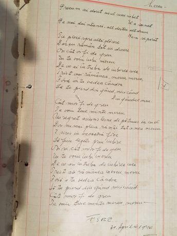 Vind registru cântece populare culese, compoziții 1890-1940