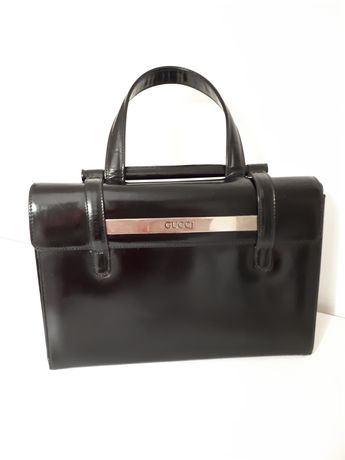 Вечерна чанта GUCCI черен лак