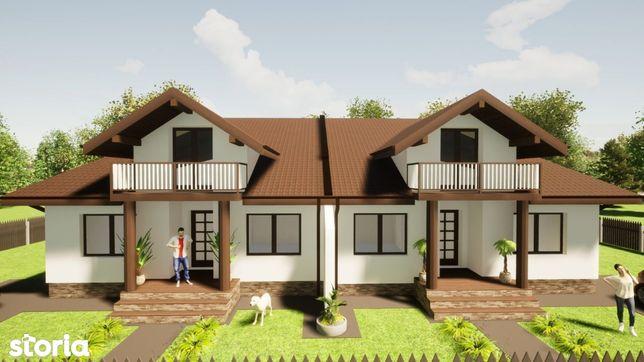 Casa pe parter cu posibilitatea de mansardare - teren 400 mp