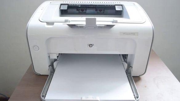 лазерен принтер HP LaserJet Pro P1102