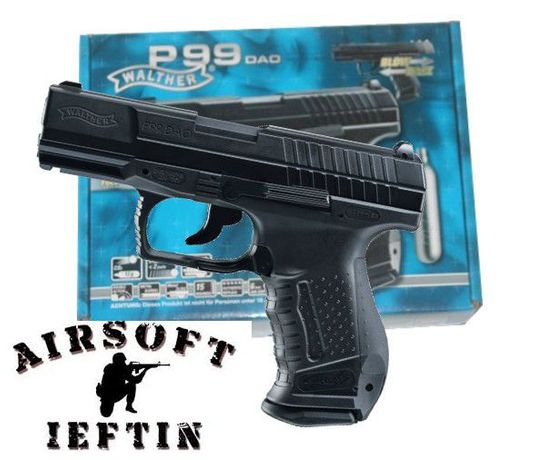 Pistol Airsoft WALTHER P99 Dao co2 UPGRADAT 4j NOU