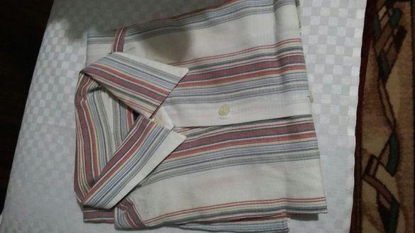 Мъжка кенарена риза
