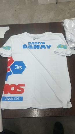 Печать на футболках по индивидуальному дизайну сублимация флекс