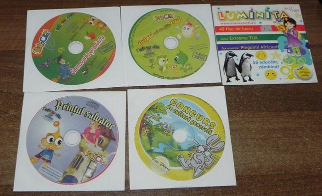 cd jocuri educative copii PitiClic DubluClic DVD joc harry potter