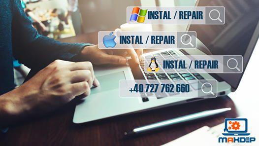 Instalare Mac Os X, Windows, Office, reparatii laptop, calculatoare