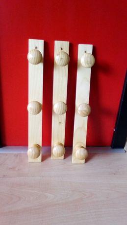 Дървени закачалки