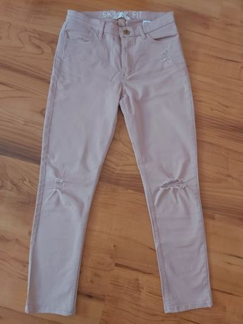 Детски бледо розови дънки от H&M