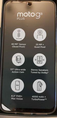 Motorola G8 Plus Nou zero minute liber de retea pachet complet (4/64)