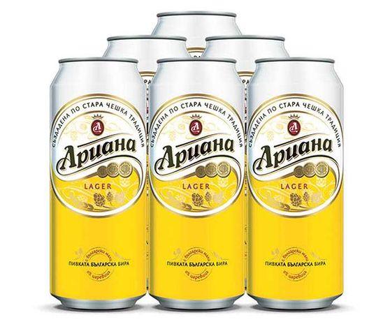 Алуминиеви кенчета от бира - 0.20 лв./бр.