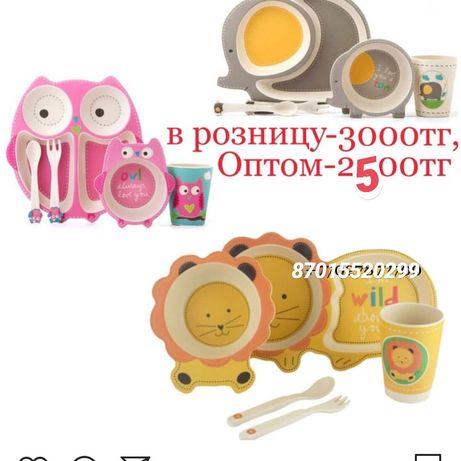 Эко посуда для детей