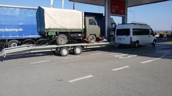 Транспорт на автомобили